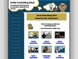 better-fundraising-ideas.com screenshot