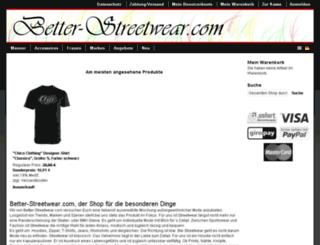 better-streetwear.com screenshot
