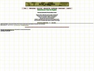 betteraccent.com screenshot