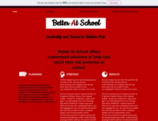 betteratschool.com screenshot