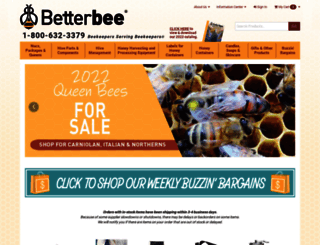 betterbee.com screenshot