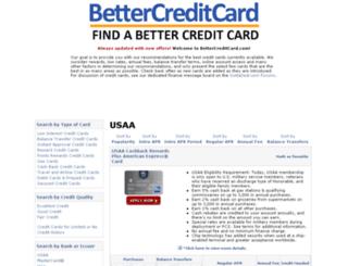 bettercreditcard.com screenshot