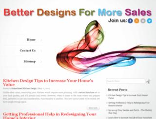 betterdesignsformoresales.com screenshot