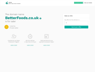 betterfoods.co.uk screenshot