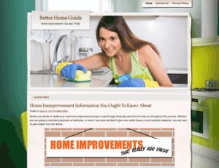 betterhomeguide.wordpress.com screenshot