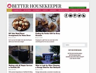 betterhousekeeper.com screenshot