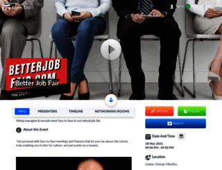 betterjobfair.com screenshot