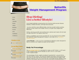 betterlifestyle.webs.com screenshot
