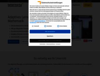 bettermarks.org screenshot