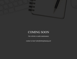 betterplanning.net screenshot