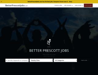 betterprescottjobs.com screenshot