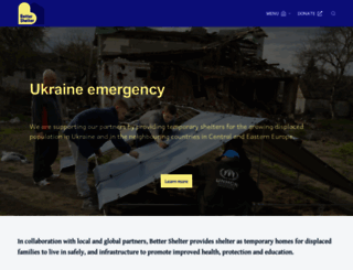 bettershelter.org screenshot