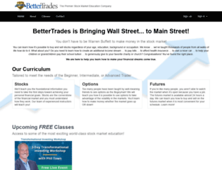 bettertrades.com screenshot