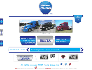 bettertrucks.ca screenshot