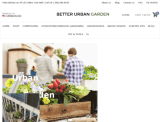 betterurbangarden.com screenshot