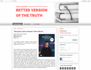 betterversionofthetruth.blogspot.fr screenshot
