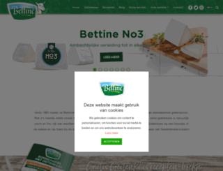 bettine.nl screenshot