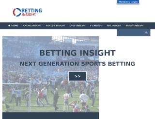 betting-insight.com screenshot