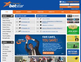betting.betstar.com.au screenshot