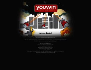 betting.youwin.com screenshot