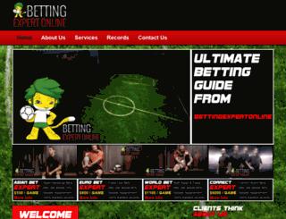 bettingexpertonline.com screenshot