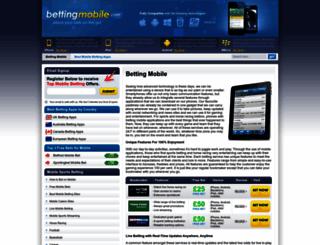 bettingmobile.com screenshot
