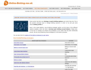 bettingsystemreviews.co.uk screenshot