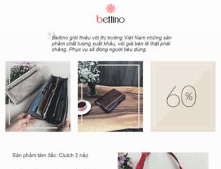 bettino.com screenshot