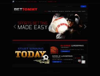 bettommy.com screenshot