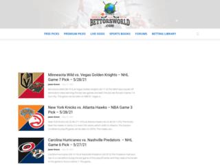 bettorsworld.com screenshot