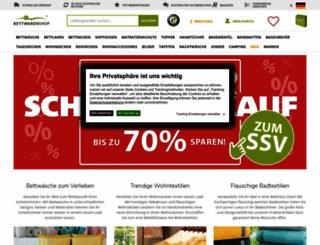 bettwaren-shop.de screenshot
