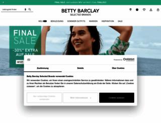 bettybarclay.com screenshot