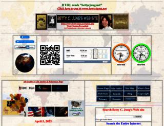 bettycjung.net screenshot