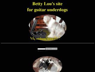 bettylou.zzruss.com screenshot