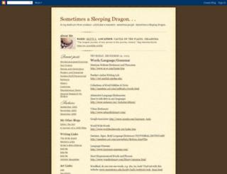 bettysanders.blogspot.com screenshot