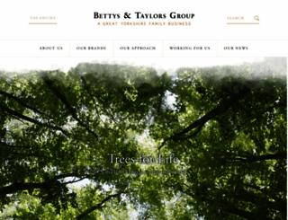 bettysandtaylors.co.uk screenshot