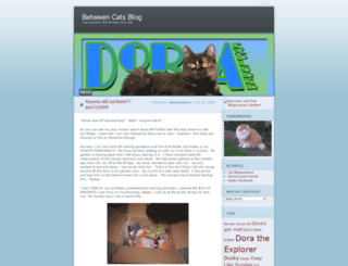 betweencatsblog.wordpress.com screenshot