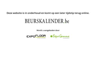 beurskalender.be screenshot
