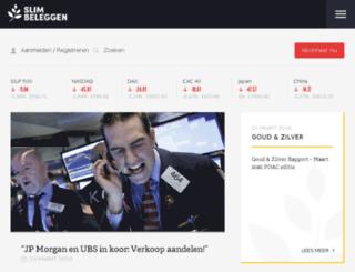 beursklets.nl screenshot