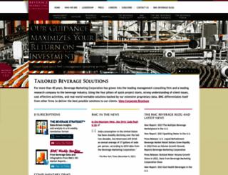 beveragemarketing.com screenshot