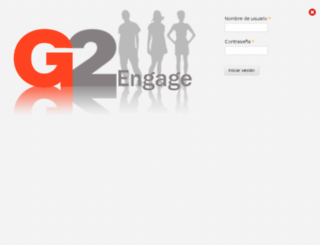 beverages2015-es.g2engage.com screenshot