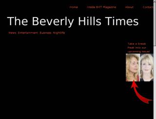 beverlyhillstimesmagazine.com screenshot