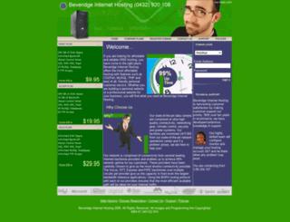 bevhost.com screenshot