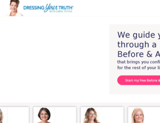 bevibrant.dressingyourtruth.com screenshot