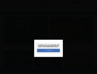 bevilles.com.au screenshot