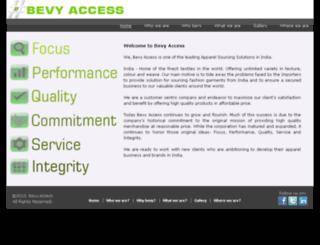 bevyaccess.com screenshot