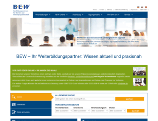 bew.de screenshot