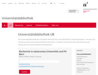 bew.unibe.ch screenshot