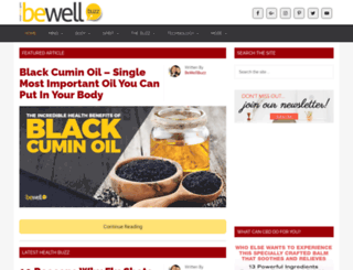 bewellbuzz.com screenshot