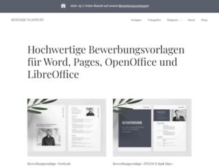 bewerbungsprofi.net screenshot